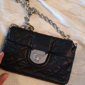Ck leather crossbody/clutch bag